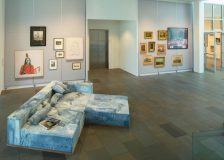 Wendy White, American Idyll, installation view SCAD Museum of Art 2018