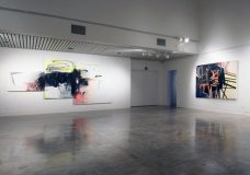 Wendy White, 6 Years/6 Works, installation view University of Tennessee 2011