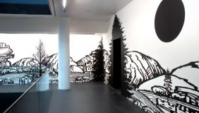 Paul Morrison, installation view Blomberg SPACE, London 2007