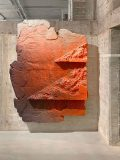 Jan Albers, rOughrOck, 2020, epoxy resin & spraypaint on polystyrene, 236 x 180 x 44 cm, unique, Private Collection